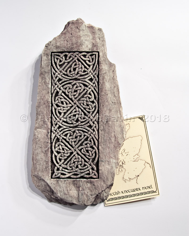 Knotwork Panel Wall Plaque
