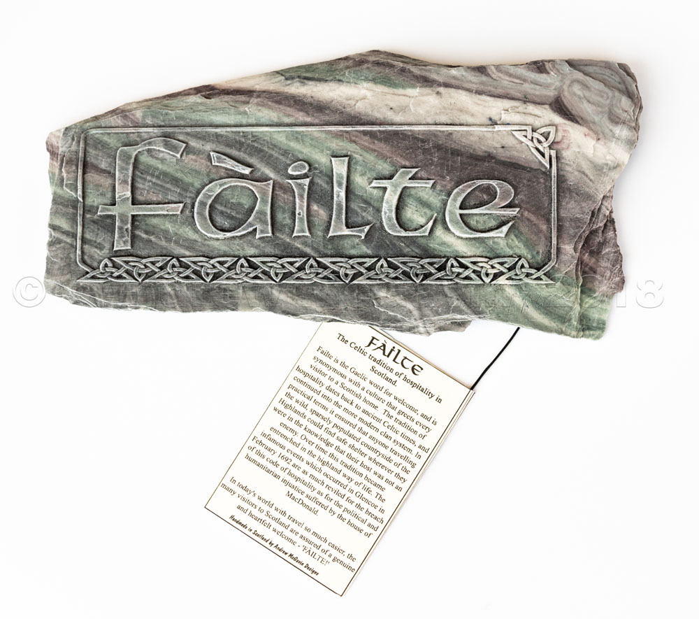 Failte Wall Plaque